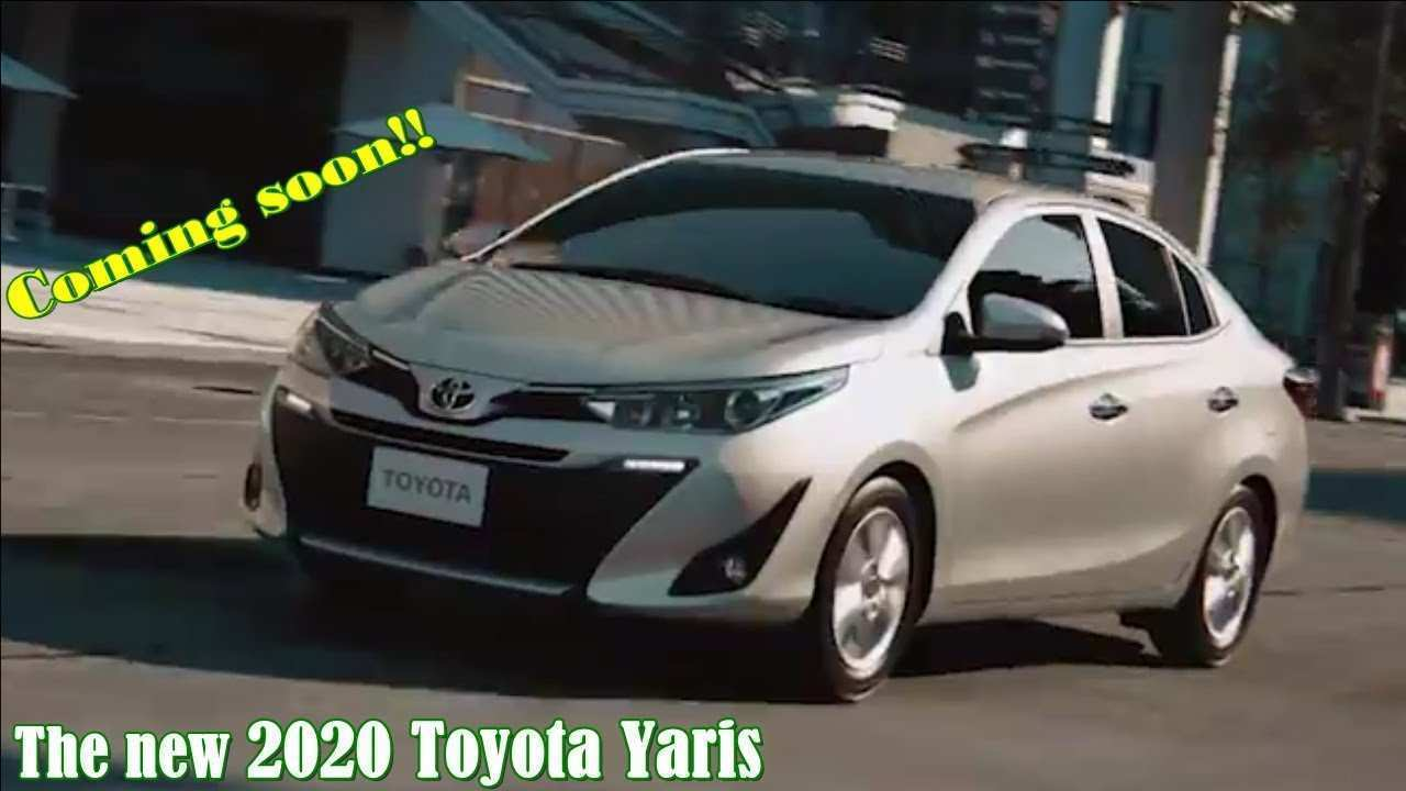 40 A 2020 Toyota Yaris Spesification