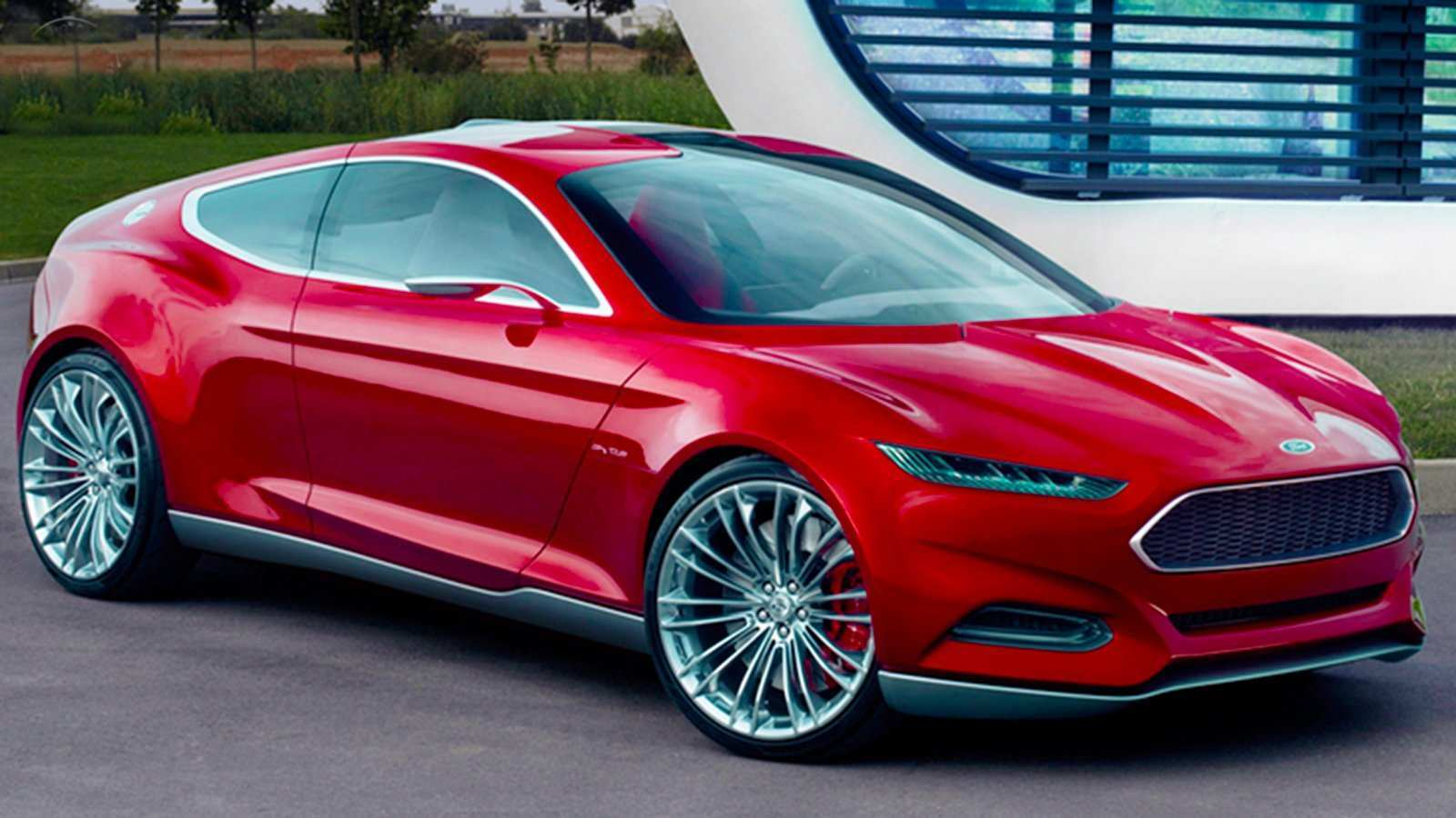40 A Ford Mustang Hybrid 2020 Images
