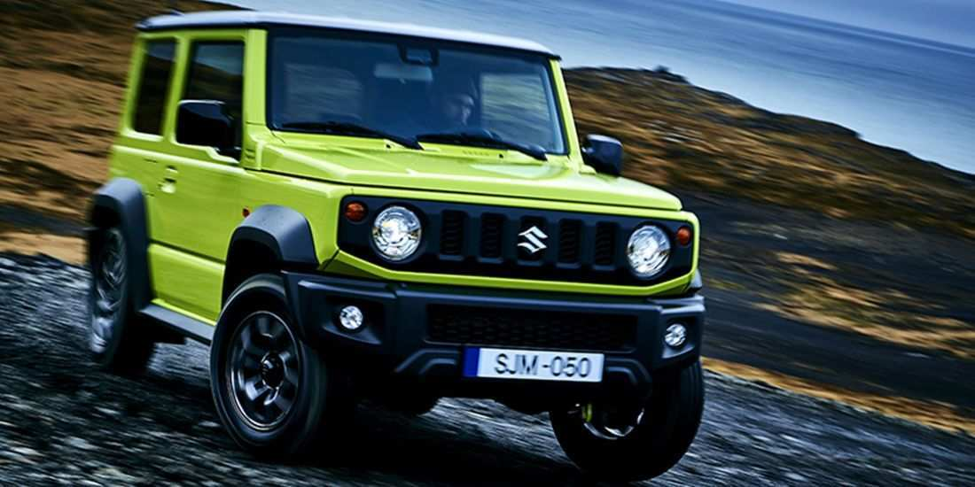 40 All New 2019 Suzuki Jimny First Drive