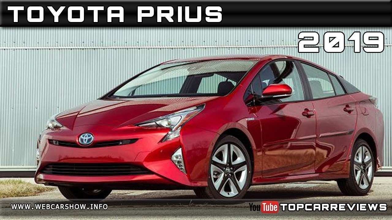 40 All New 2019 Toyota PriusPictures Model
