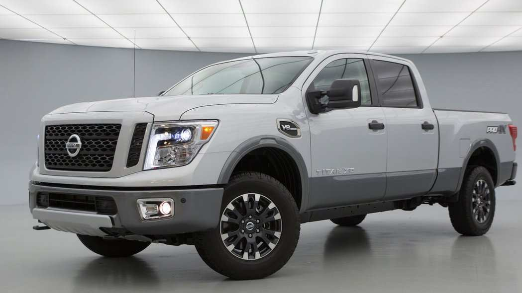 40 All New 2020 Nissan Titan Diesel Exterior