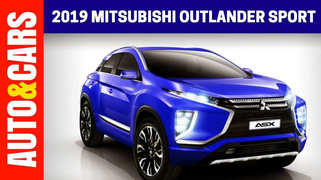 40 Best 2019 All Mitsubishi Outlander Sport Release Date And Concept