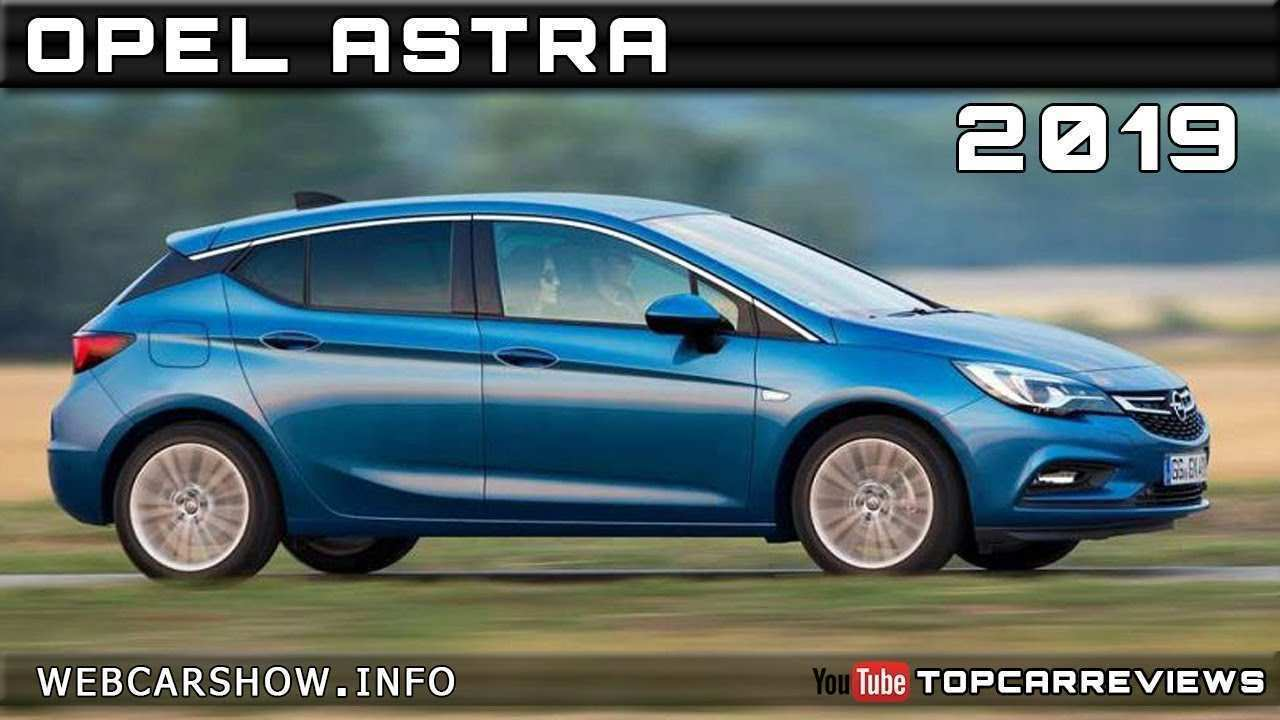40 The 2019 New Opel Astra Style