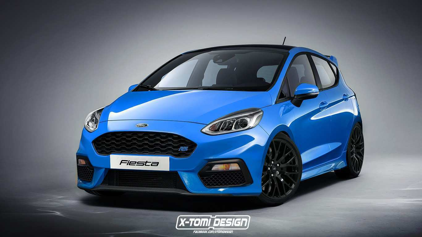 40 The 2020 Ford Fiesta Interior