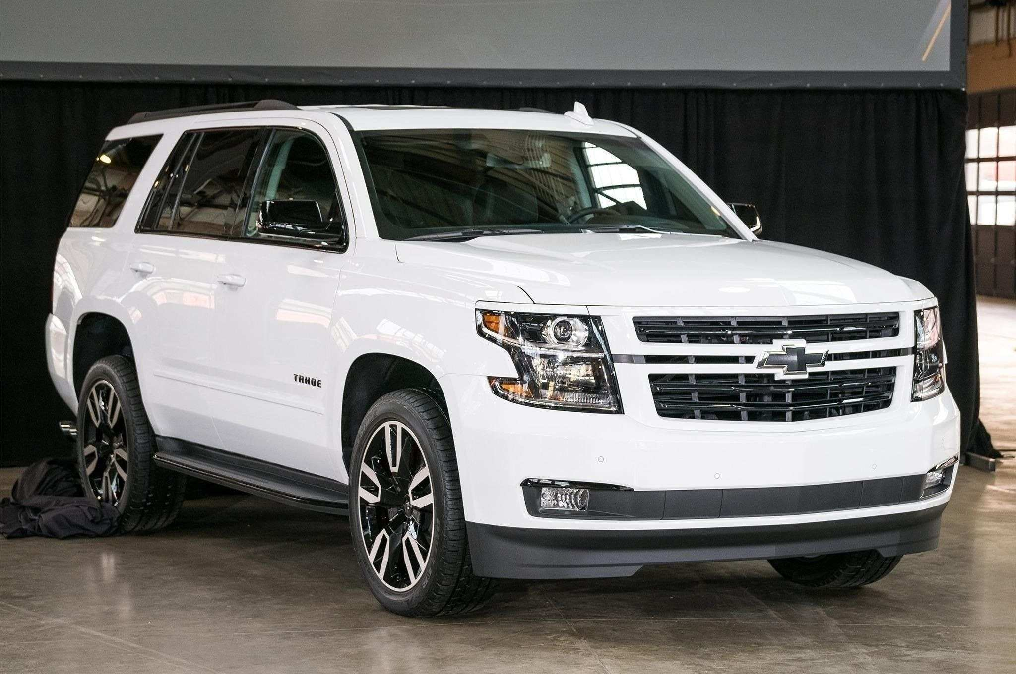 40 The Best 2019 Chevy Tahoe Ltz Redesign