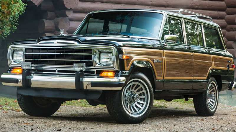 40 The Best 2019 Jeep Grand Wagoneer Exterior And Interior