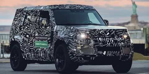 40 The Best 2019 Land Rover Defender Spy Shoot