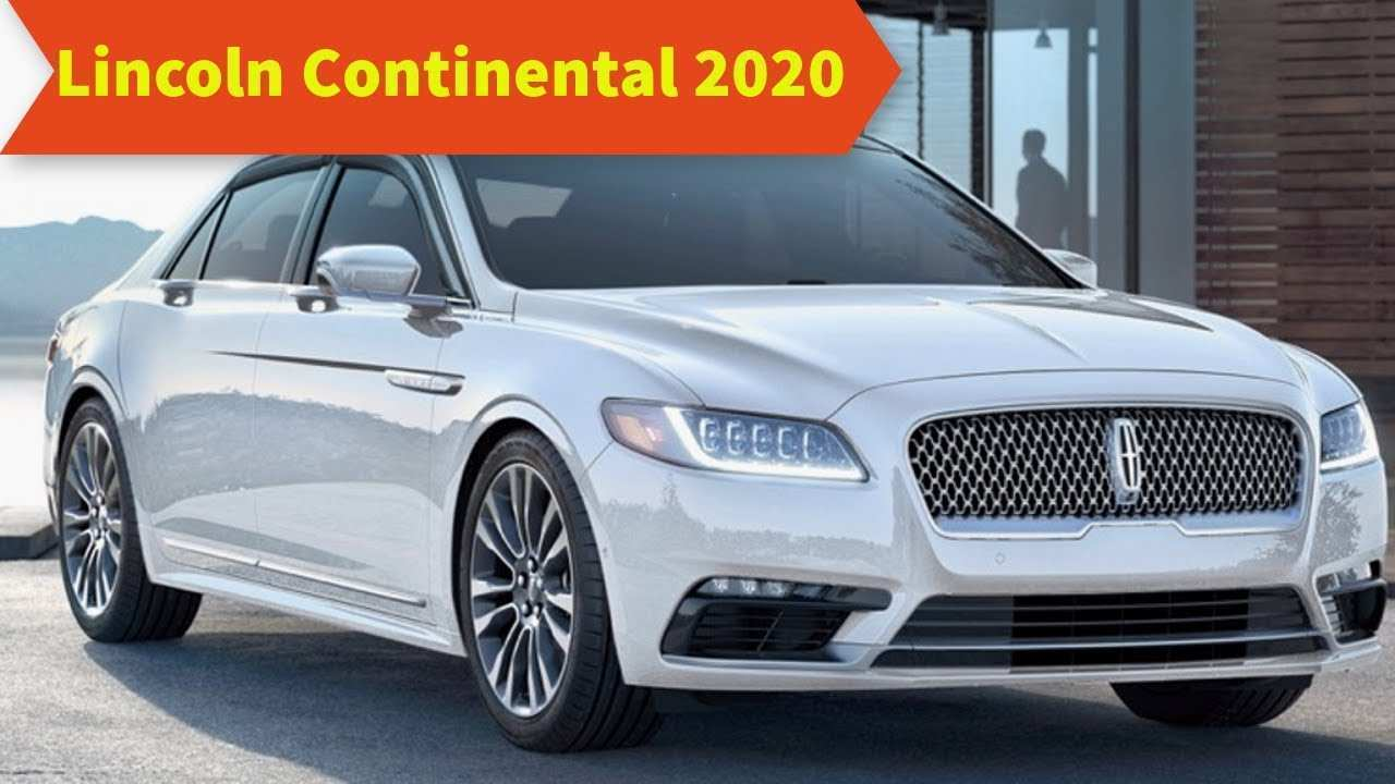 40 The Best 2020 Lincoln Continental Redesign And Review