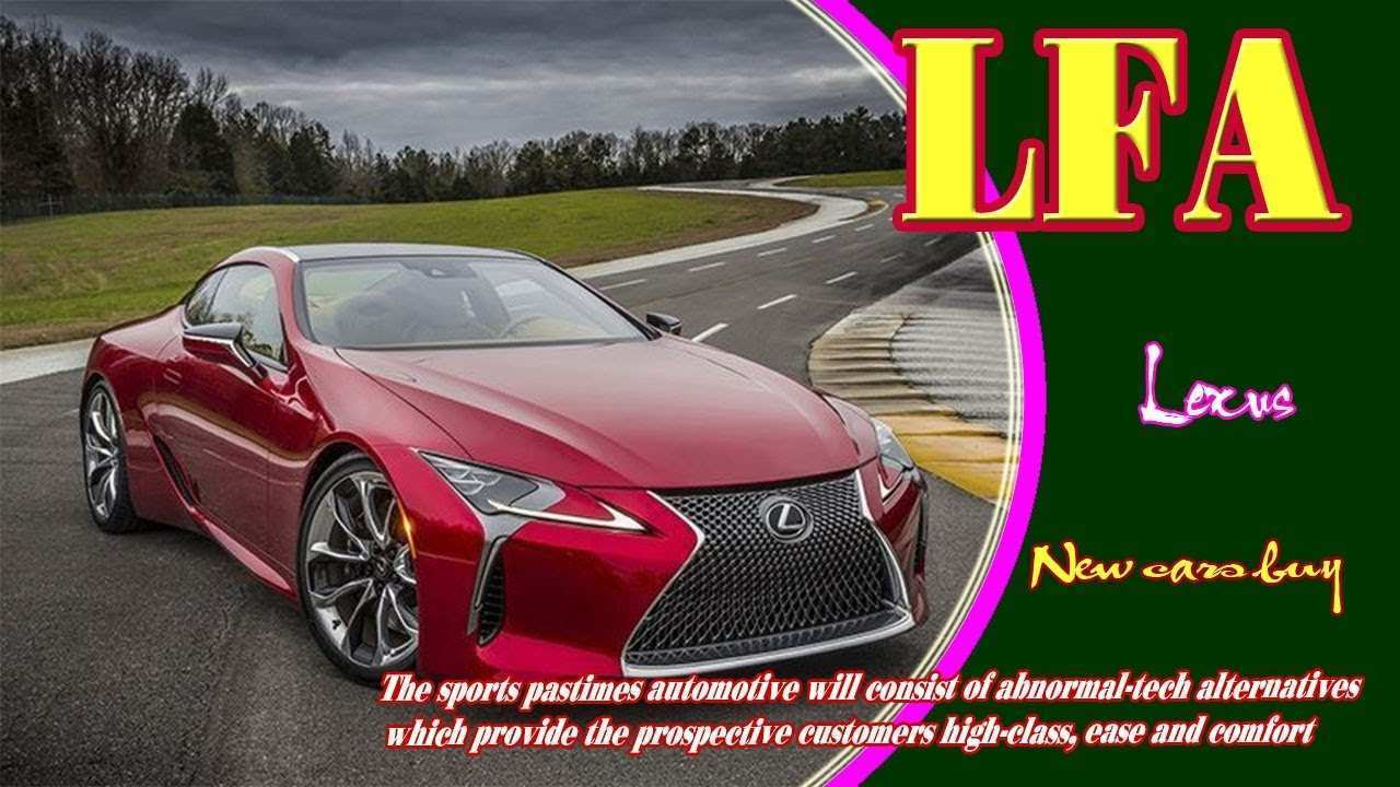 40 The Best Lexus Lfa 2019 Review