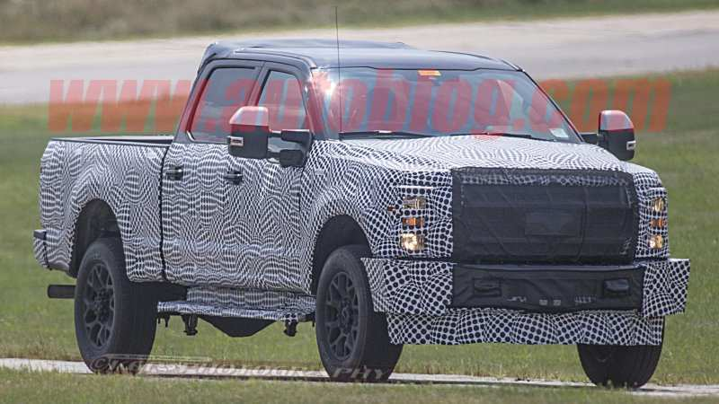 40 The Spy Shots Ford F350 Diesel First Drive