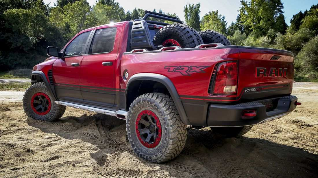 41 A 2020 Dodge Ram Hellcat Concept And Review