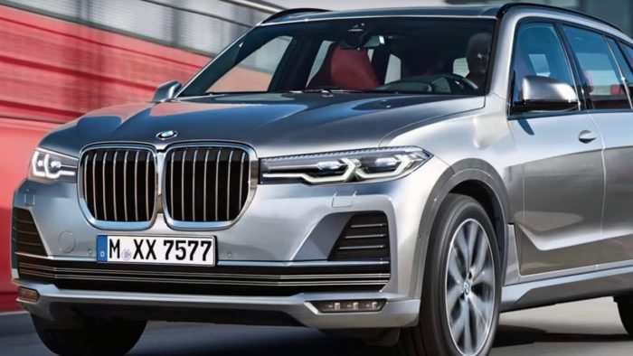 41 All New 2019 BMW X7 Suv Concept