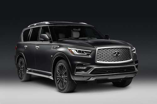 41 All New 2019 Infiniti QX80 Concept And Review