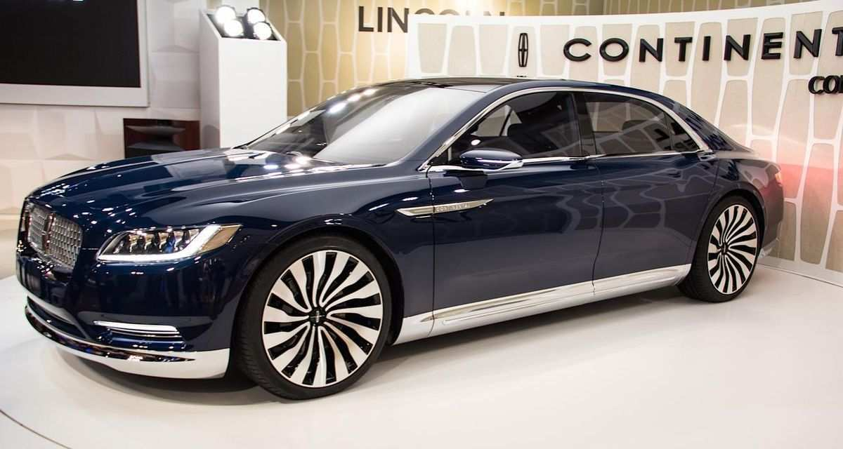 41 All New 2020 Lincoln Town Release Date