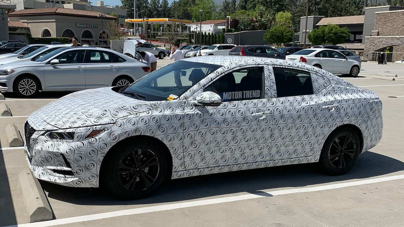 41 All New 2020 Nissan Sentra Review And Release Date