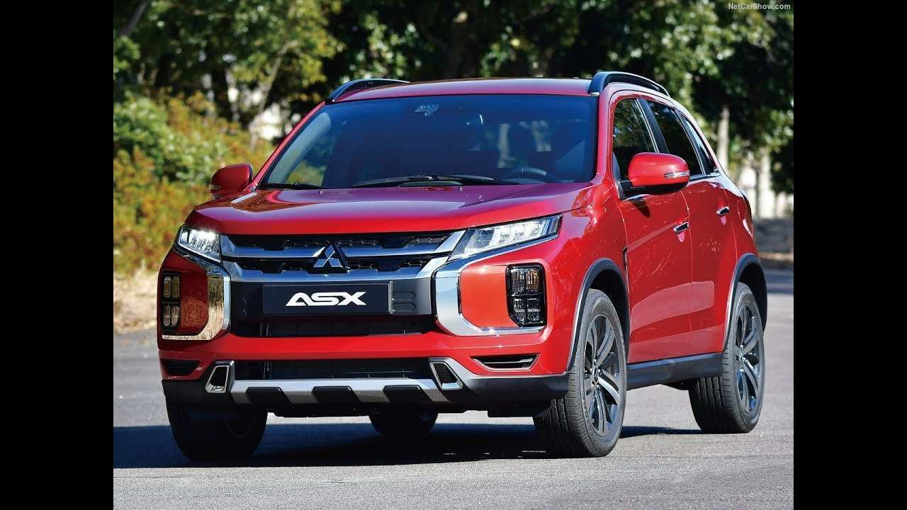 41 All New Mitsubishi Asx 2020 Youtube Redesign And Review