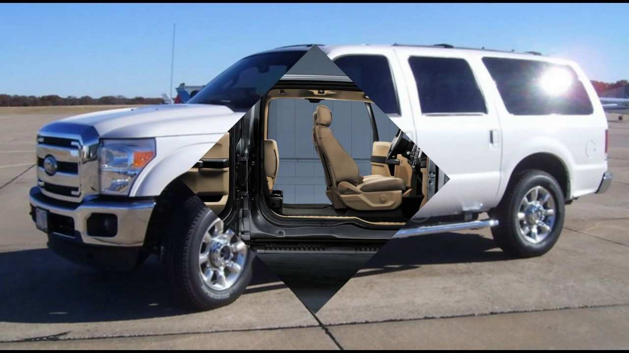 41 Best 2019 Ford Excursion Diesel Exterior And Interior