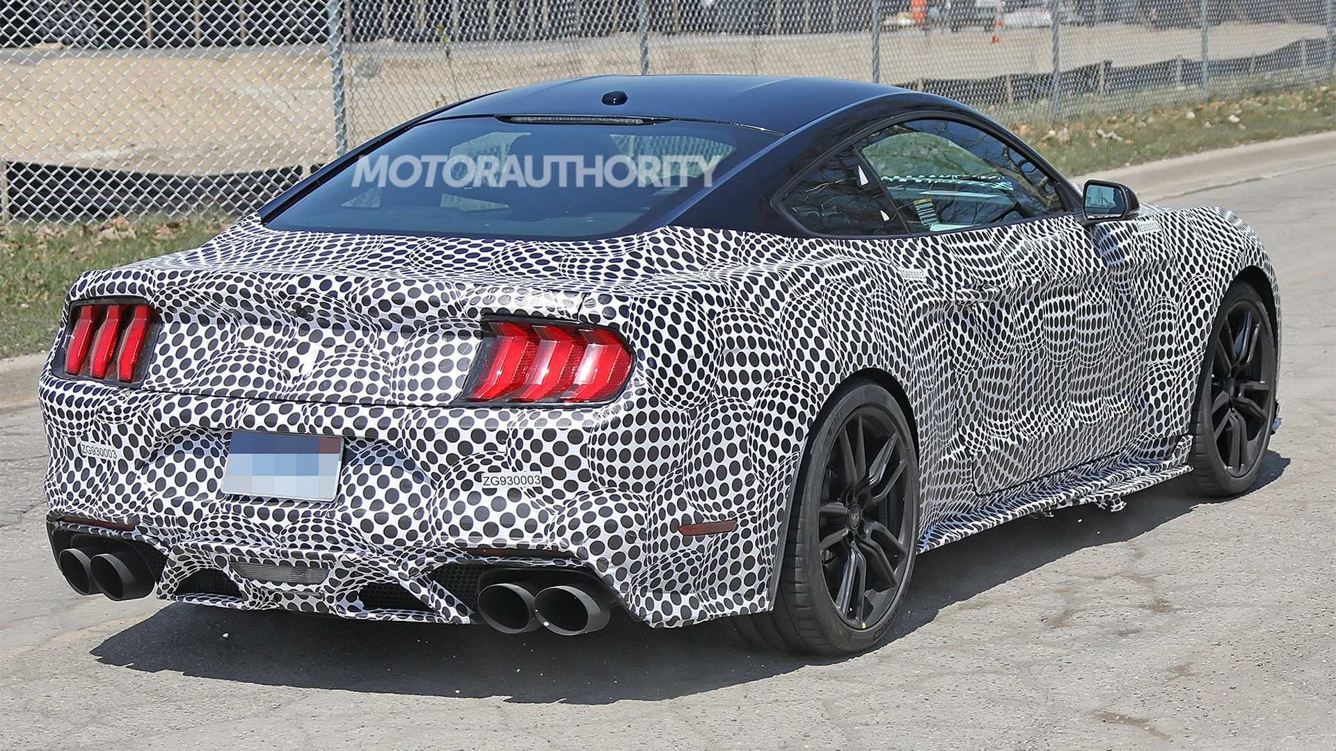 41 Best Spy Shots Ford Mustang Svt Gt 500 Wallpaper