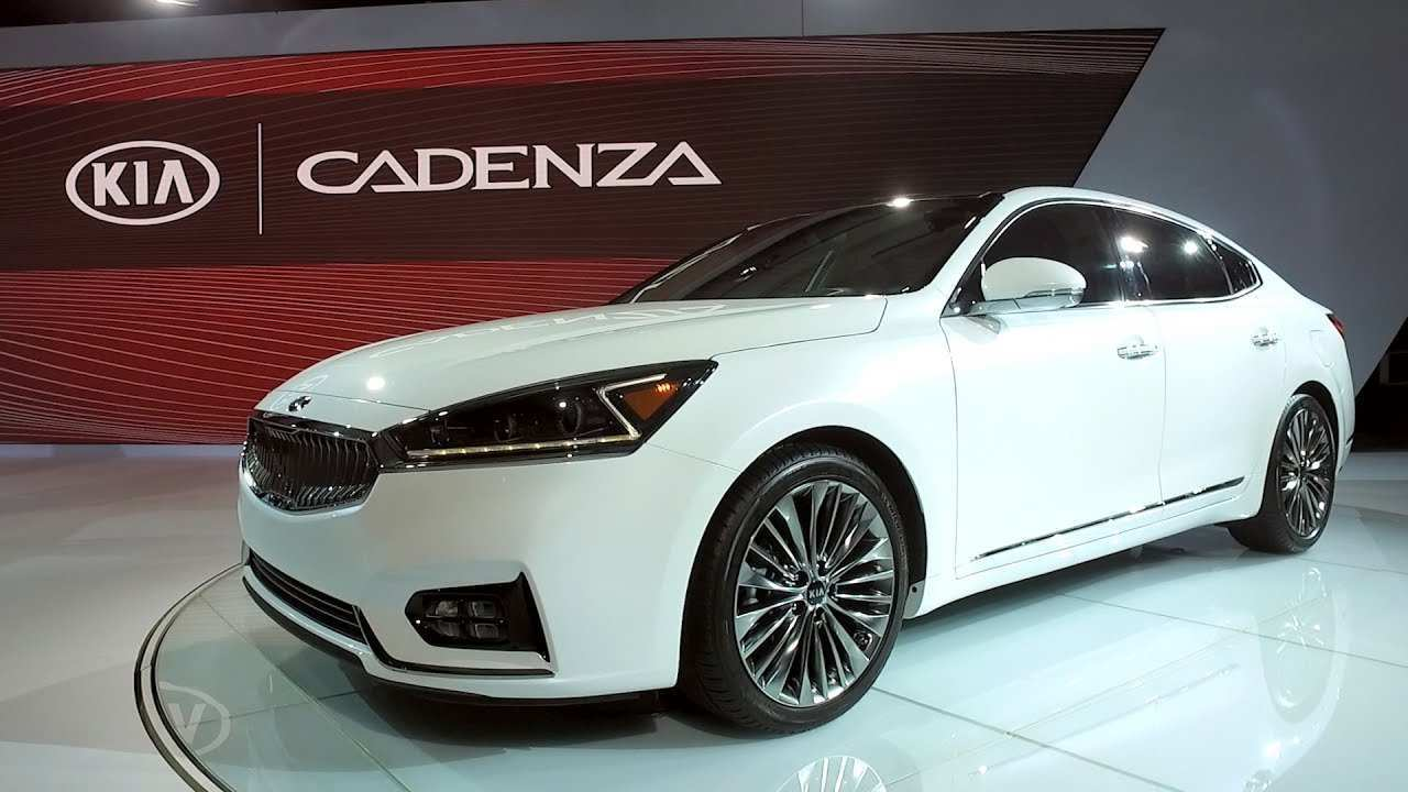 41 New 2020 All Kia Cadenza New Concept