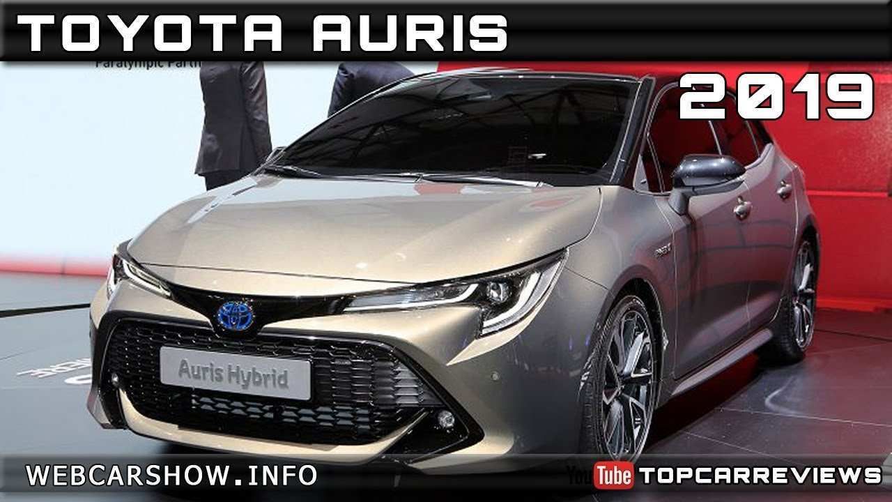 41 New Toyota Auris 2019 Release Date Review And Release Date