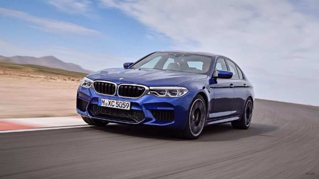 41 The 2019 BMW M5 Get New Engine System Images