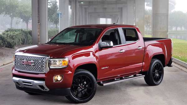 41 The 2019 GMC Canyon Denali Engine