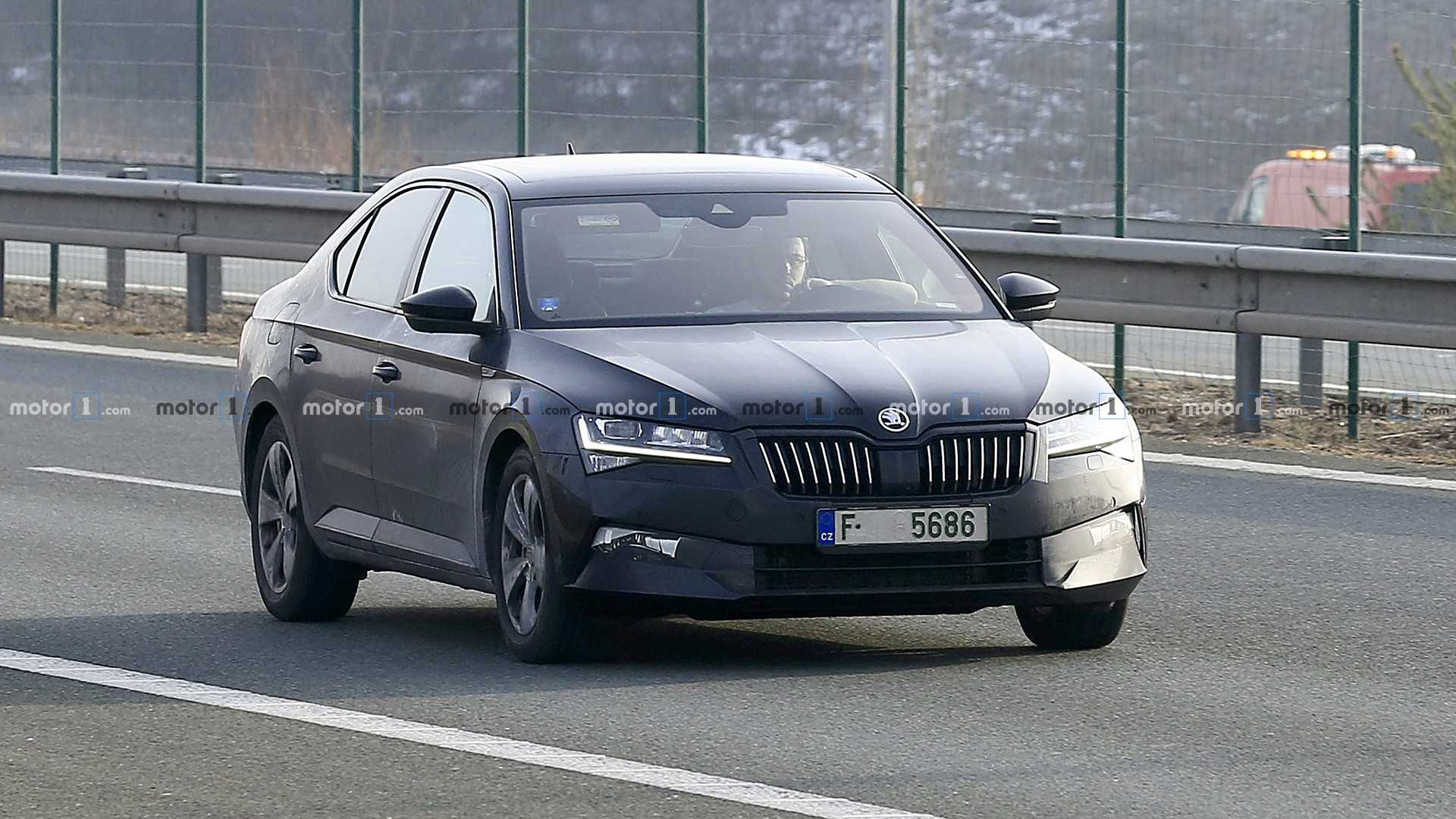 41 The 2019 The Spy Shots Skoda Superb Release