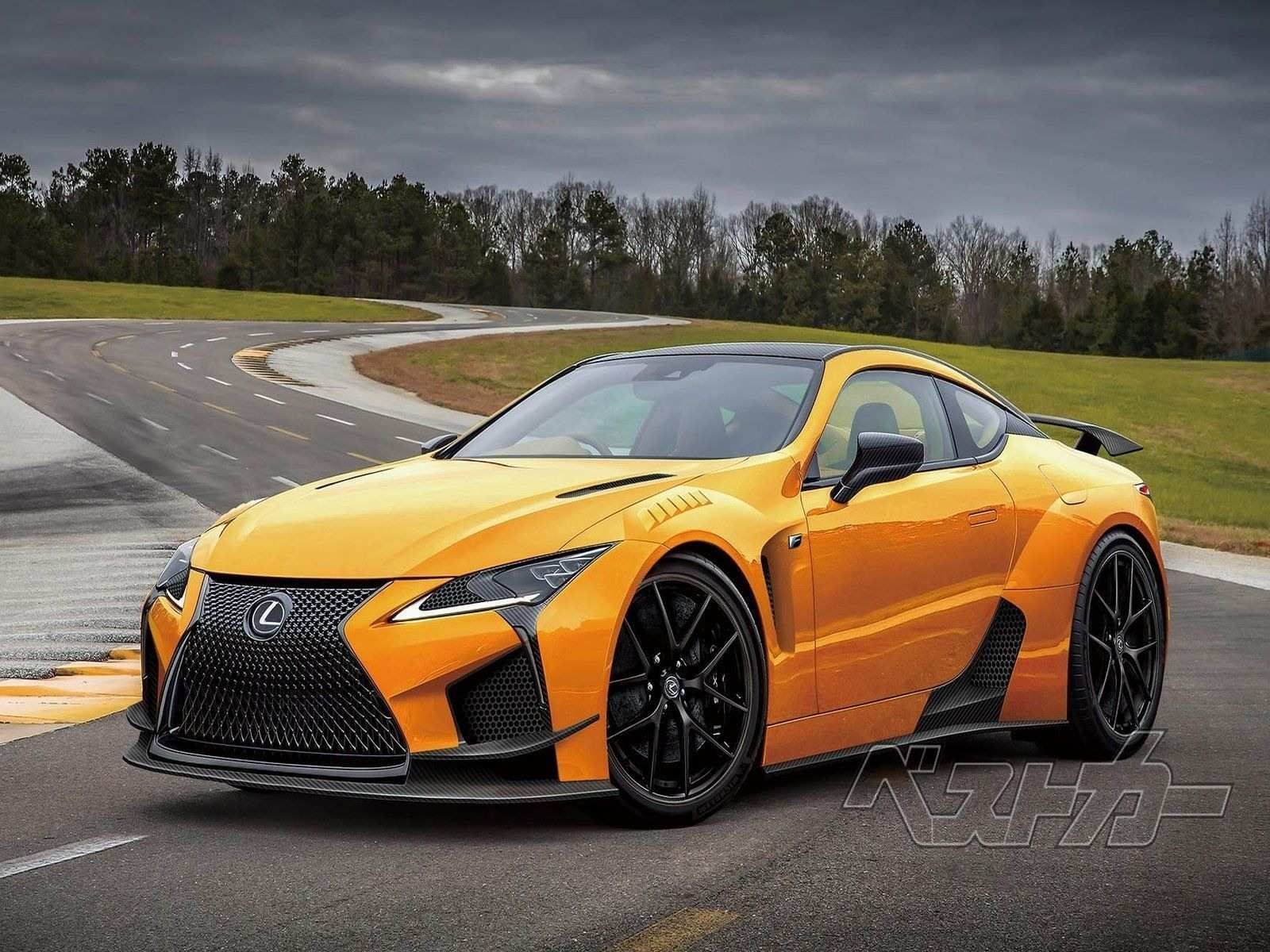 41 The Best 2019 Lexus Lf Lc Redesign And Review