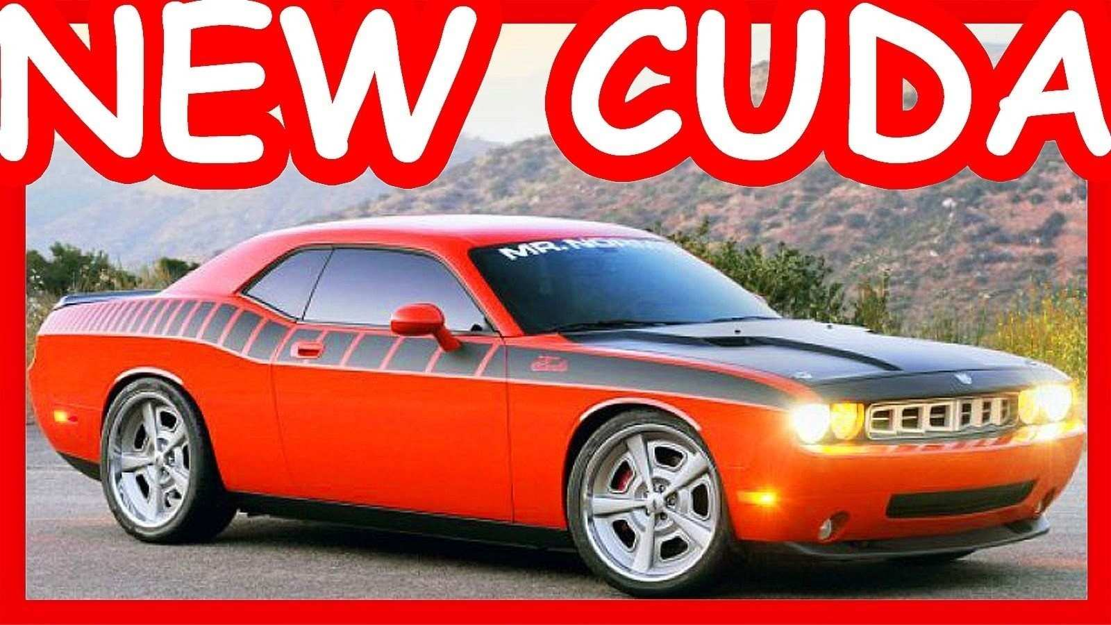 41 The Best 2019 Plymouth Barracuda Spesification