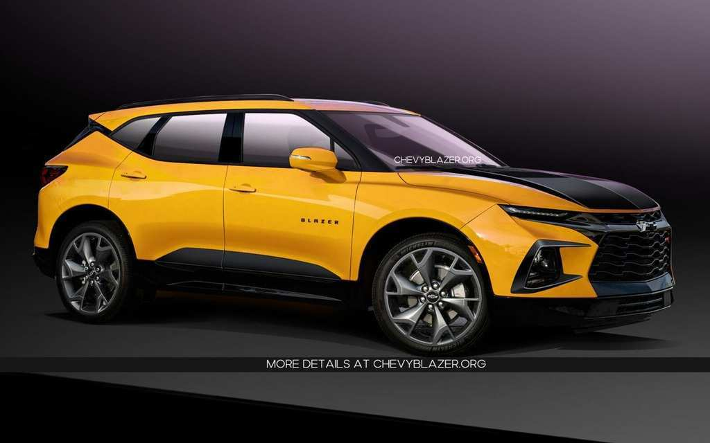41 The Best 2020 Chevy Blazer Redesign