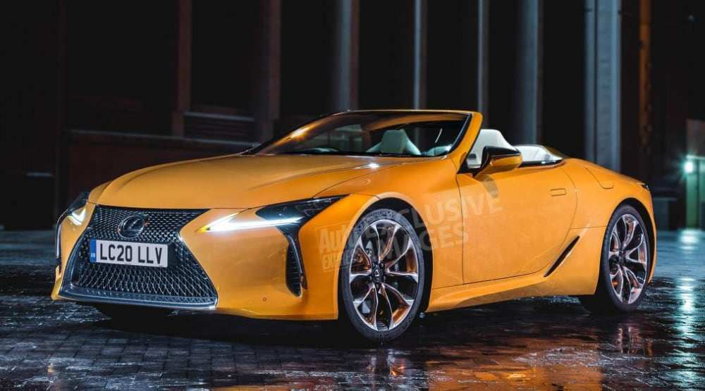 41 The Best 2020 Lexus SC Spy Shoot