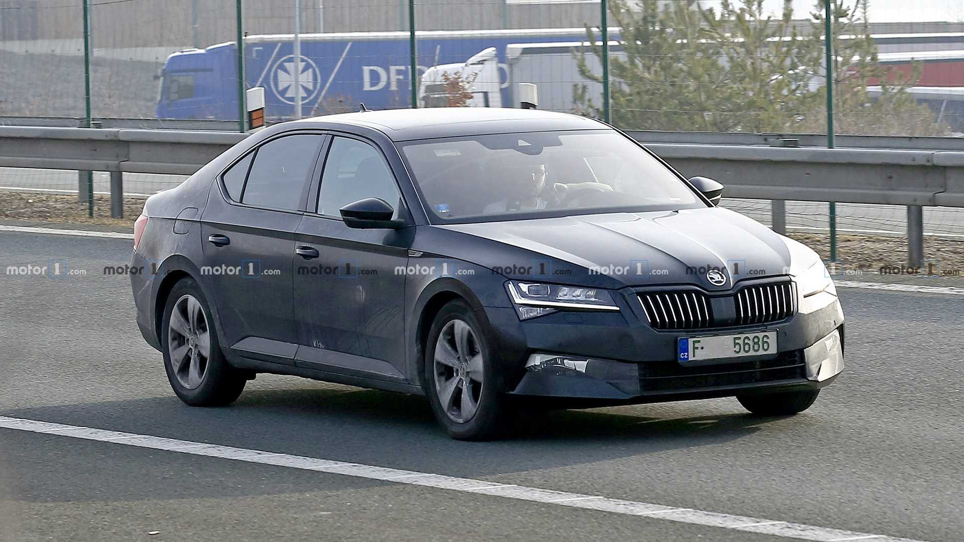 41 The Best Spy Shots Skoda Superb New Model And Performance