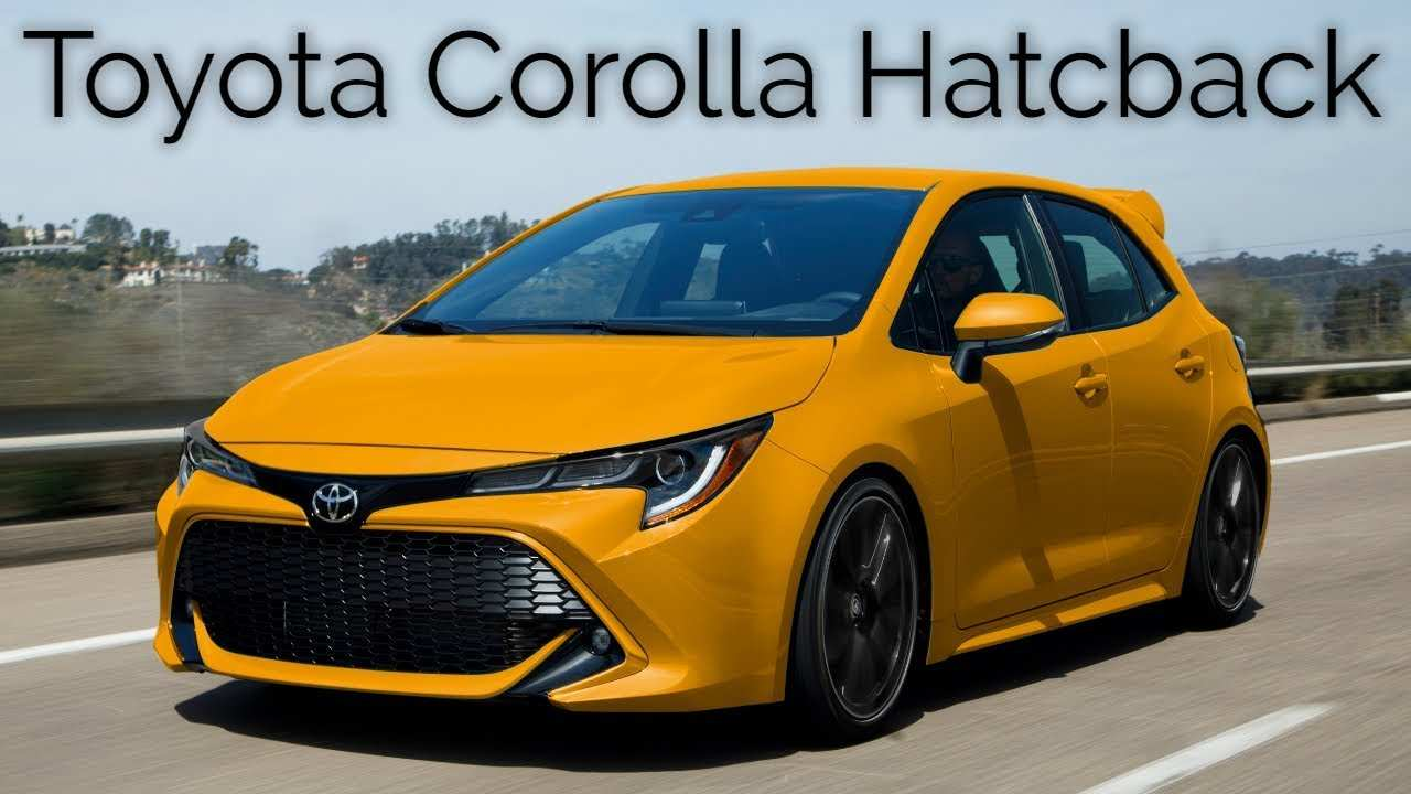41 The Best Toyota Hatchback 2019 Release