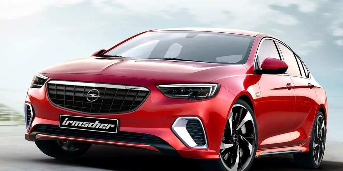 42 A 2019 New Opel Insignia Release