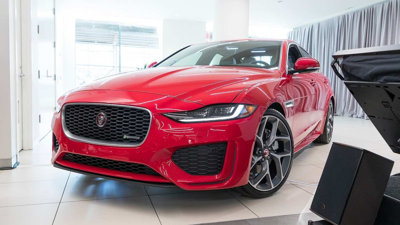 42 A 2020 Jaguar Xe Sedan First Drive
