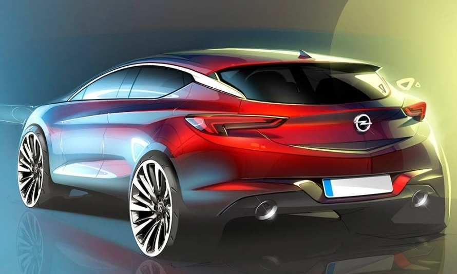 42 A 2020 Opel Astra Exterior And Interior