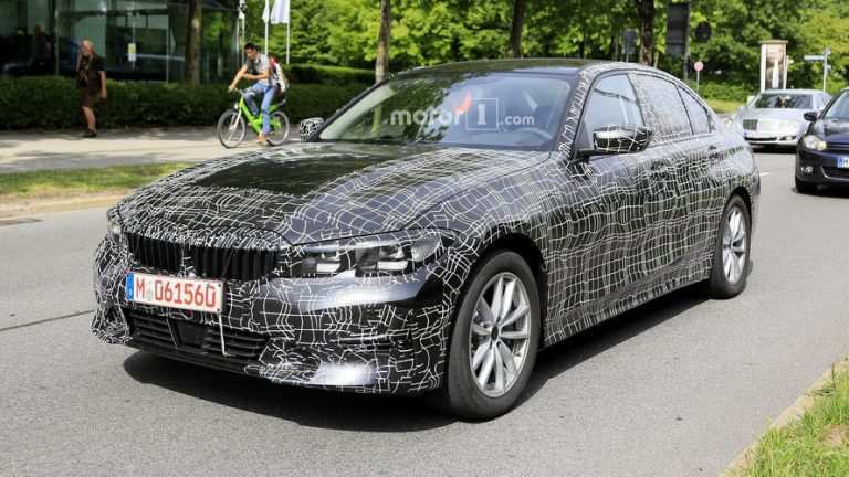 42 A 2020 Spy Shots BMW 3 Series Pictures