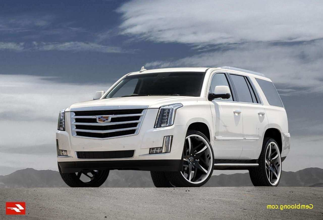 42 All New 2019 Cadillac Escalade V Ext Esv Performance And New Engine