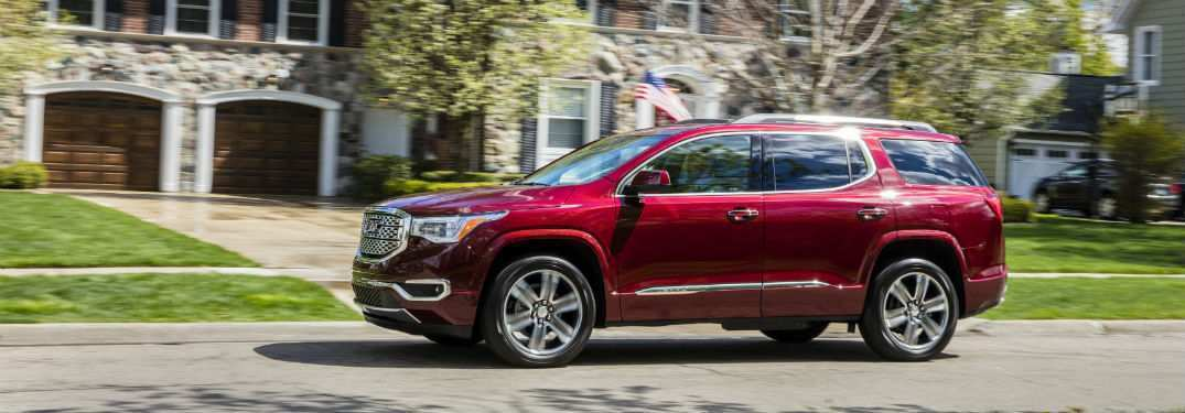 42 All New 2019 Gmc Acadia Denali Release Date And Concept