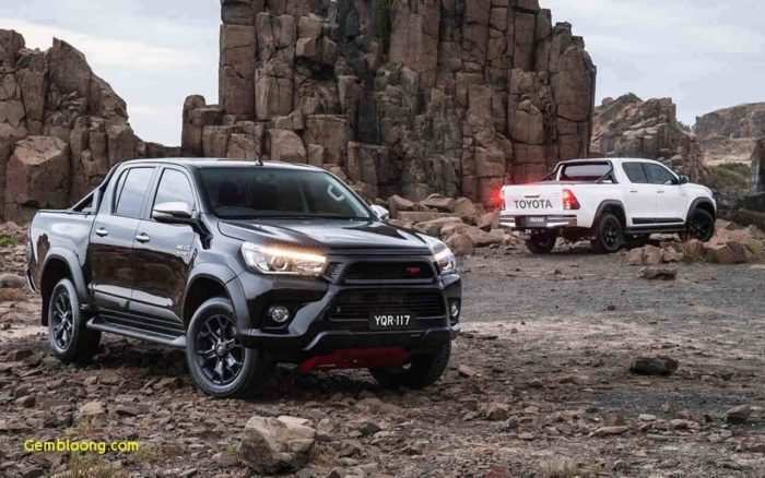 42 All New 2019 Toyota Hilux Spy Shots Engine