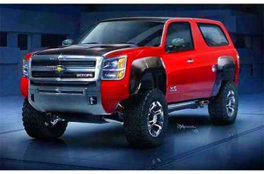 42 All New 2020 Chevy Blazer K 5 Redesign