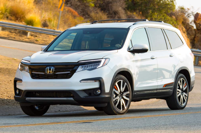 42 All New 2020 Honda Pilot Spy Photos Style