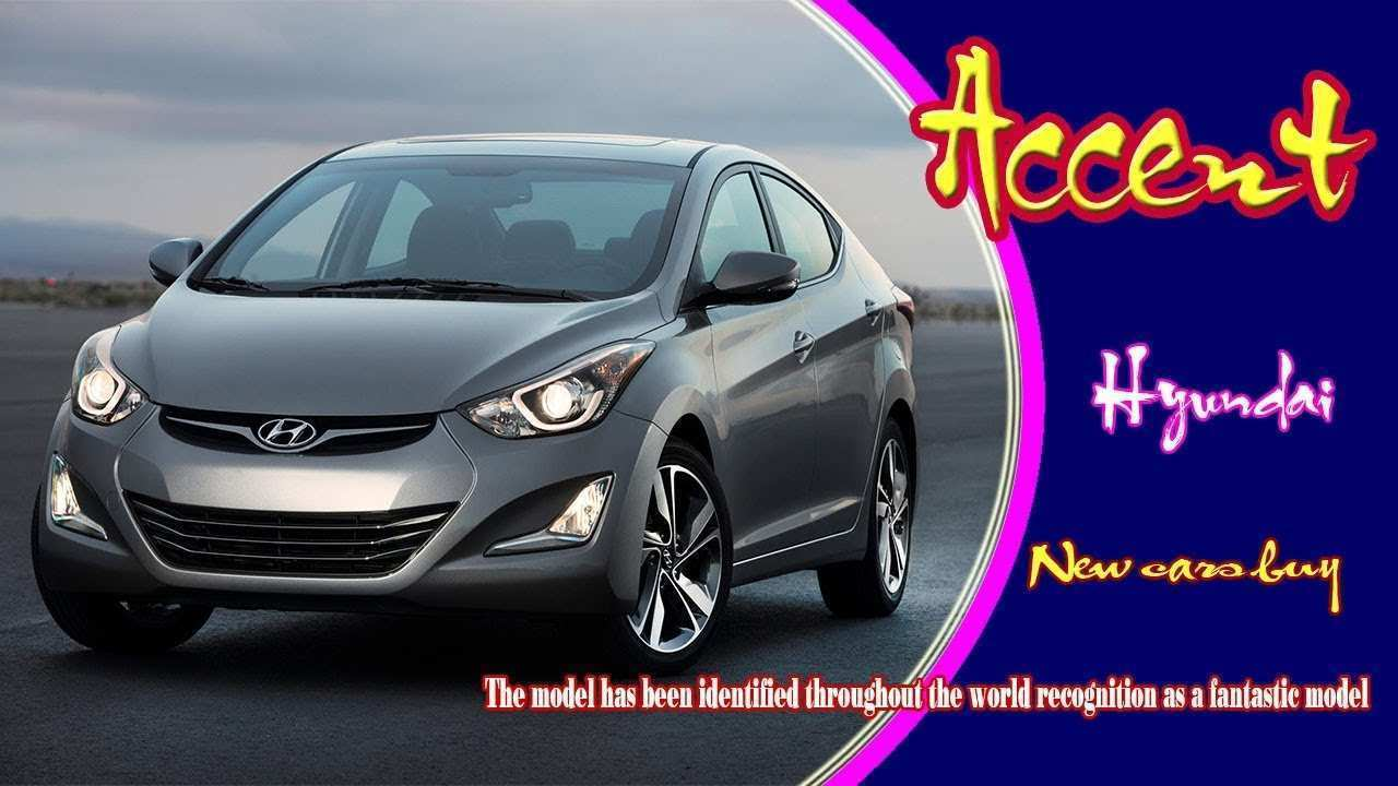 42 All New Hyundai Accent 2020 Price Design And Review