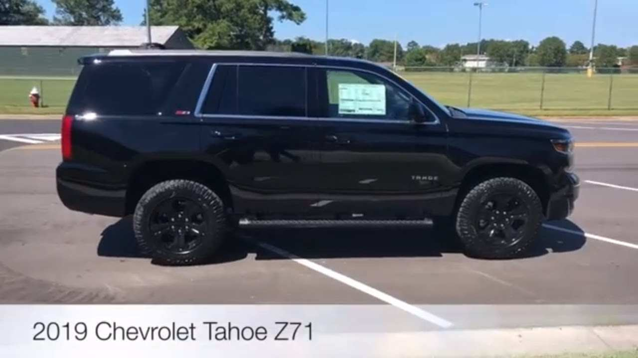 42 Best 2019 Chevy Tahoe Z71 Ss Performance