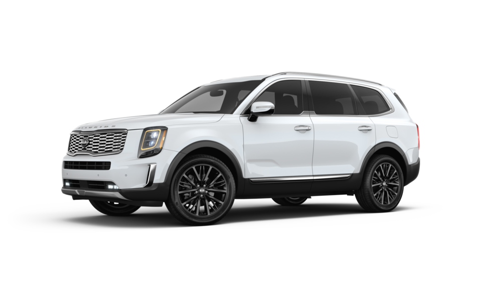 42 New 2020 Kia Telluride White Spy Shoot