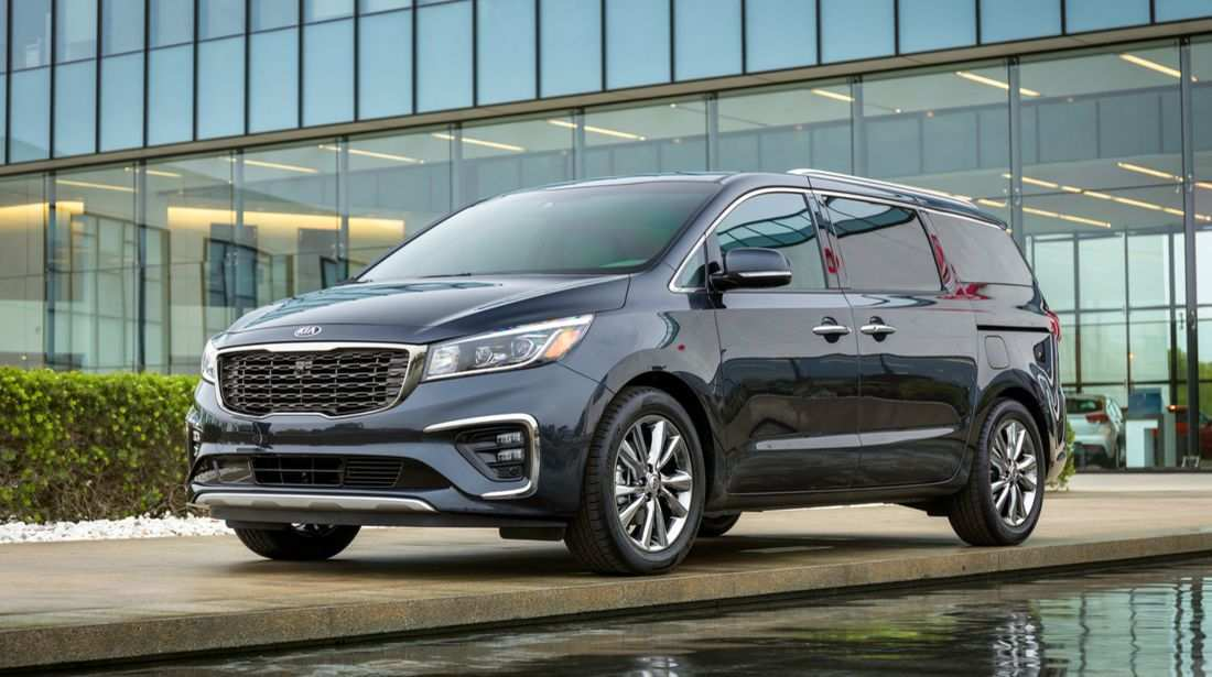 42 New Kia Grand Carnival 2019 Review Spy Shoot