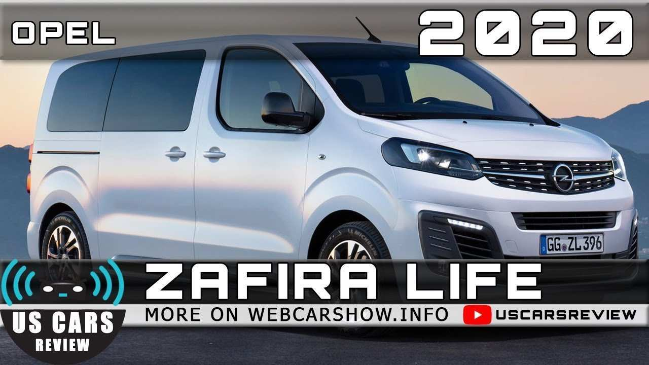 42 New Opel Zafira Life 2020 Review And Release Date