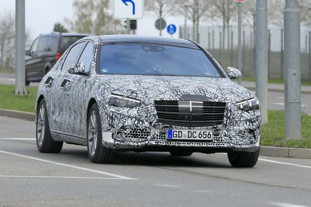 42 The 2020 Mercedes S Class First Drive