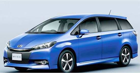 42 The 2020 New Toyota Wish Exterior And Interior