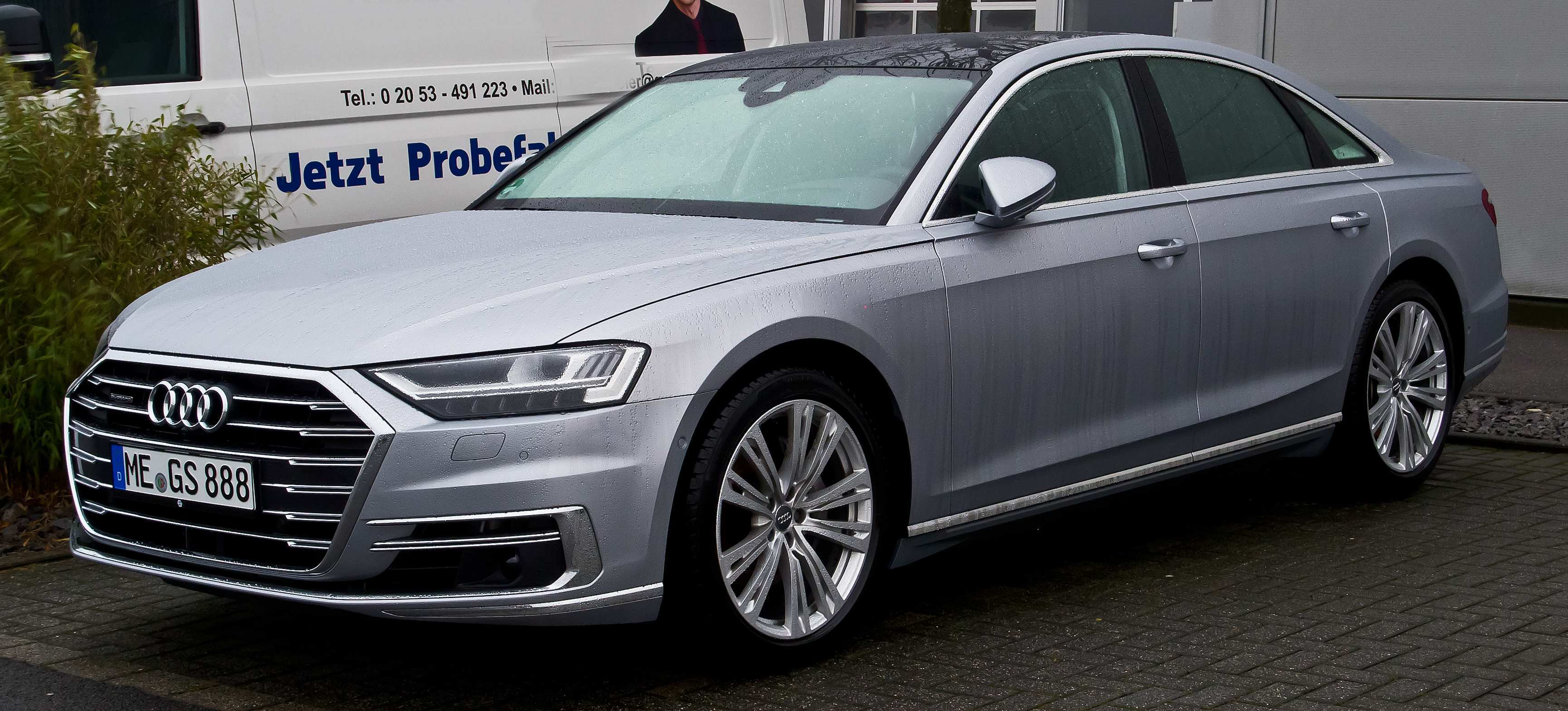 42 The Audi A8 Picture